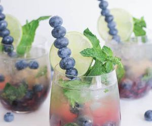 blueberry and drink image