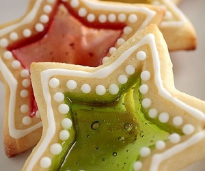Cookies, star, and window image