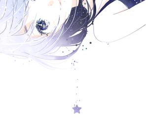 anime, anime girl, and stars image