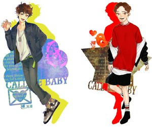 Chen, exom, and callmebaby image