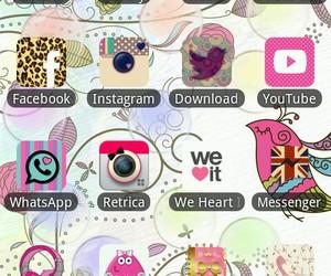 app, camera, and facebook image