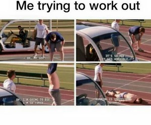 funny, true, and workout image