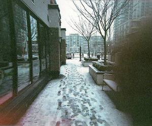 photography, snow, and vintage image
