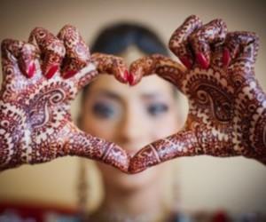 henna and heart image