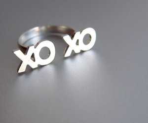 xoxo, ring, and fashion image