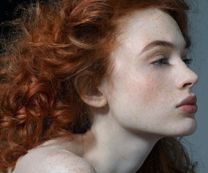 redhead, beauty, and ginger image