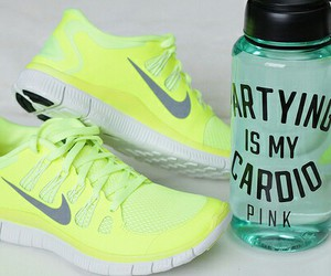 green, Victoria's Secret, and waterbottle image