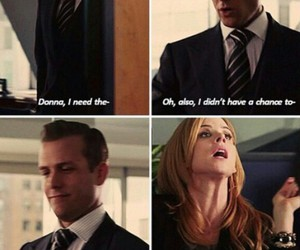 donna, series, and suits image