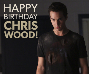 bday, the vampire diaries, and chris wood image