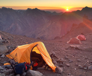 adventure, camping, and landscapes image