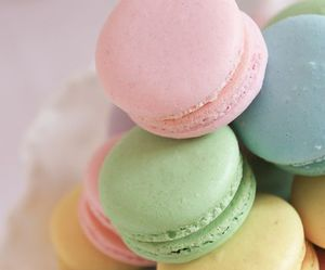 sweet, pastel, and food image