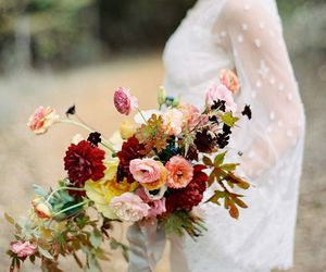 beautiful, bouquet, and flores image