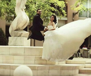 love, couple, and mariage image