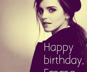 birthday, emma watson, and happy image