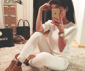 accessories, girl, and style image