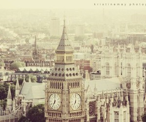 london, vintage, and city image