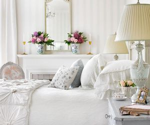 bedroom, home, and beautiful image