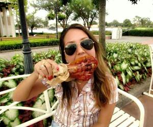 disney, girl, and food image
