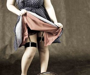 Pin Up, vintage, and rockabilly image