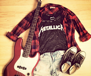 clothes, girl, and hard rock image