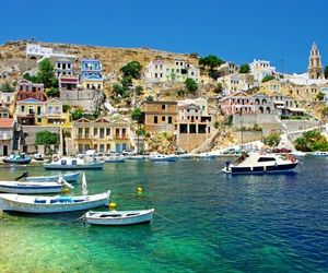 Greece, travel, and boat image