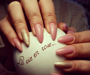 fashion, long nails, and love it image