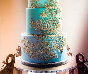 cake and blue image