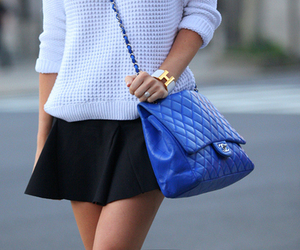 fashion, chanel, and bag image