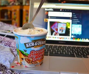 tumblr, ice cream, and food image