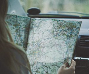 car, roadtrip, and travel image