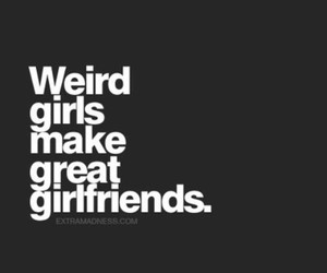 girl, girlfriend, and weird image