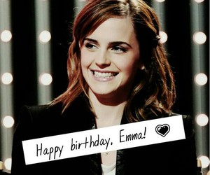 emma watson, happy birthday, and harry potter image