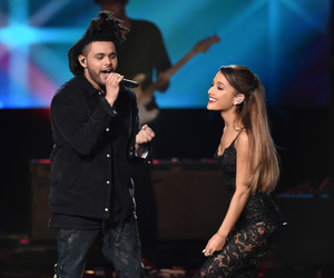 ariana grande, the weeknd, and amas image