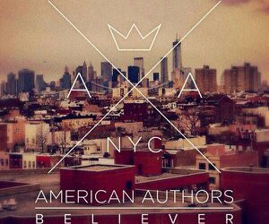 music, believer, and american authors image