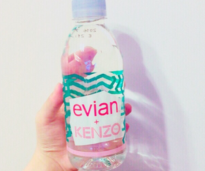 evian, fancy, and Kenzo image