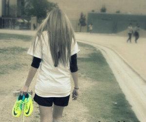 amor, football, and girl image