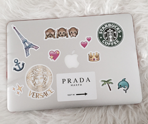 apple, Prada, and starbucks image