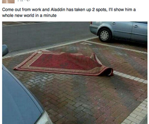 funny and aladdin image