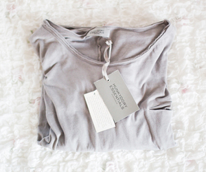 style, shirt, and grey image
