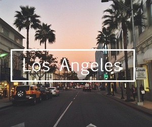 la, los angeles, and photography image