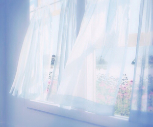 aesthetic, springtime, and window image