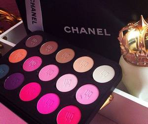 chanel, fashion, and make up image