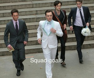 chuck bass, gg, and gossip girl image