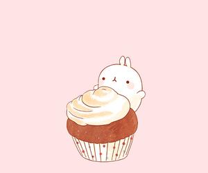 kawaii, bunny, and pink image