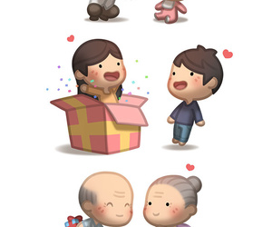 surprise and love image