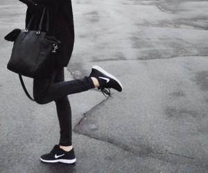 nike, black, and fashion image