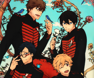 free!, anime, and boy image