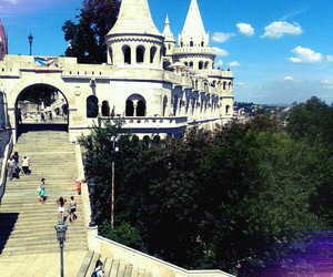 architecture, artistic, and budapest image