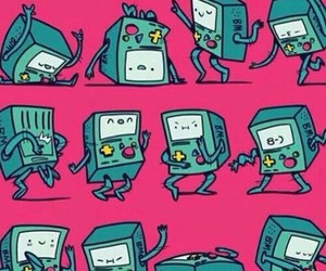 bmo, wallpaper, and adventure time image