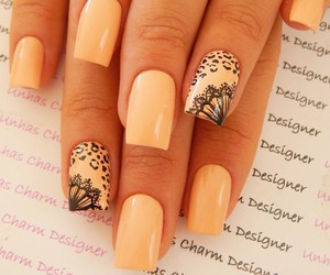 beautiful, girl, and nail art image